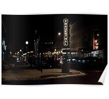"""""""Frauenthal at Night"""" Poster"""