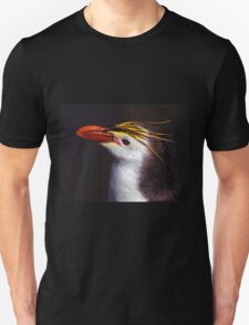 Royal Penguin Portrait Unisex T-Shirt