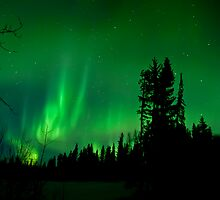 Aurora Sky Part 3 by peaceofthenorth