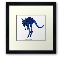 The Kangaroo Framed Print