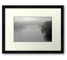 Early Morning on the James Framed Print