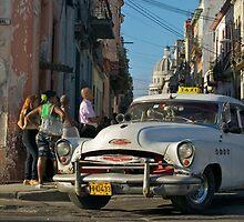 Taxi, Havana,Cuba. by Andy Kilmartin