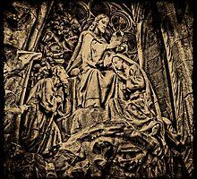 Nativity Facade, La Sagrada Familia, Barcelona by Nigel Fletcher-Jones