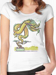 Bonsai Dragon Women's Fitted Scoop T-Shirt