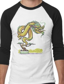 Bonsai Dragon Men's Baseball ¾ T-Shirt