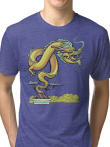 Bonsai Dragon Tri-blend T-Shirt