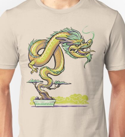 Bonsai Dragon Unisex T-Shirt