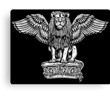 Winged Lion Canvas Print