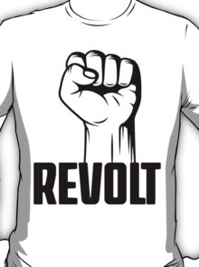 Revolt Clenched Fist Revolution T Shirt T-Shirt