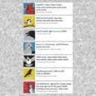Birds' tweets by Kari Fry