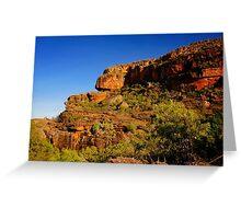Escarpment Country Greeting Card