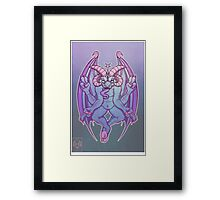 Baph Light Framed Print