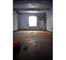 Derelict window Photographic Print