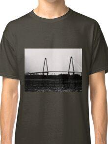 Cooper River Bridge Black & White Classic T-Shirt