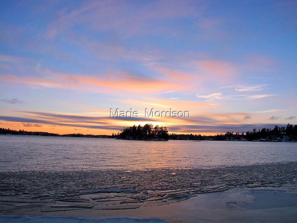 WINTER  SOLACE  by Marie  Morrison