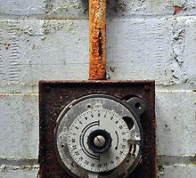 Rusty timer dial by Ben Jones