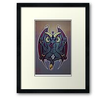 Baph Dark Framed Print