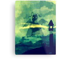 Dragonite at Bill's Lighthouse Metal Print