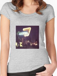 Noho Hotel Motel Women's Fitted Scoop T-Shirt