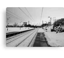No Trains Again Canvas Print