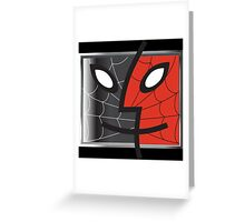 spiderman finder icon Greeting Card