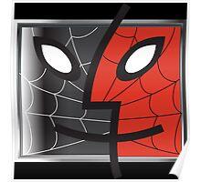 spiderman finder icon Poster