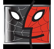 spiderman finder icon Photographic Print
