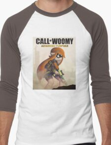 CALL OF WOOMY: ADVANCED TURFWAR Men's Baseball ¾ T-Shirt
