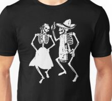 Dancing Skeletons Skulls Unisex T-Shirt