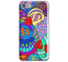 rainbow mural  iPhone Case/Skin