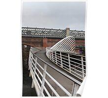 Castlefield basin bridge Poster