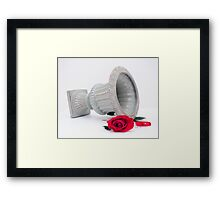 By Virtue Of Framed Print