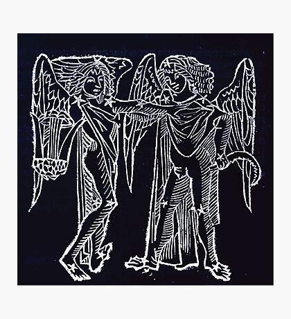 Hic Codex Auienii Continent Epigrama Astronomy Rufius Festivus Avenius 1488 Astronomy Illustrations 0141 Constellations Inverted Photographic Print