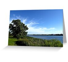 The end of Skanderborg Castle Greeting Card