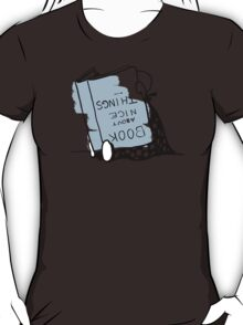 Book about nice things - Victorian illustration T-Shirt
