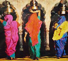 Water Carriers. by Mary James