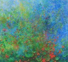 Nasturtiums. by Mary James