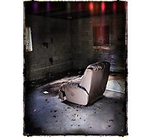Living Room Recliner Photographic Print