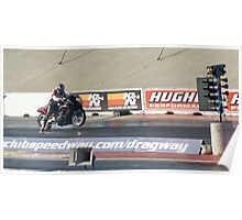 Ready to rip the 1/4 mile strip!; Fomoso Raceway; Mcfarland, CA; USA Lei Hedger Photography All Rights Reserved Poster