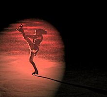 Figure Skater - Wall Art by Al Bourassa