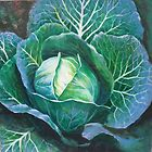 Cabbage.... by Mary James