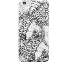 Fish and Trident iPhone Case/Skin