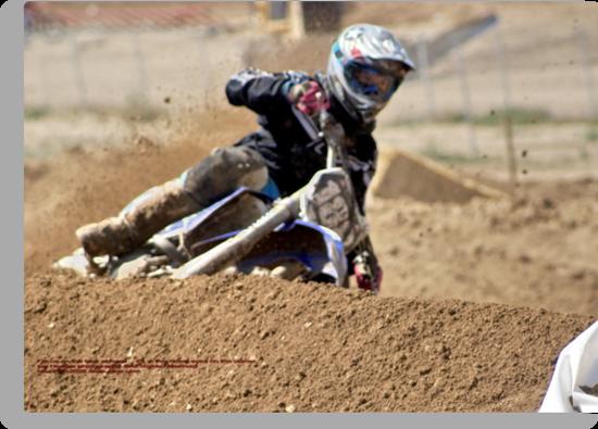 Rider #186 Eyes Focused on his goal Loretta Lynn's SW Area Qualifer; Southern California USA by leih2008