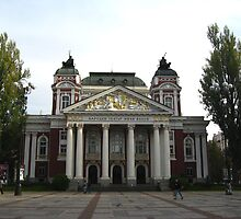 Ivan Vazov National Theatre by Maria1606