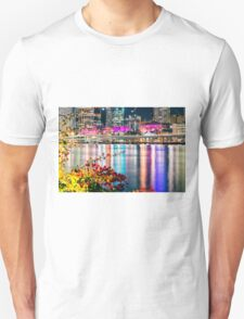 View of Brisbane City at night Unisex T-Shirt