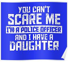 Police Officer And Daughter Poster
