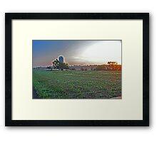 Hells Bend Sunrise Framed Print