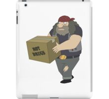 Rick and Morty: Criminal Not Carrying Box of Drugs iPad Case/Skin