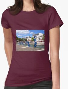 Blue Dragon - Cognac Womens Fitted T-Shirt