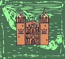 Mexican Church by xorbah
